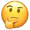 thinking emoji fftranscription